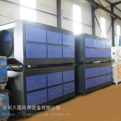 喷漆房工业废气处理活性炭吸附装置的工艺特点