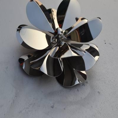 不锈钢花叶装饰品价格 镜面不锈钢花叶饰品