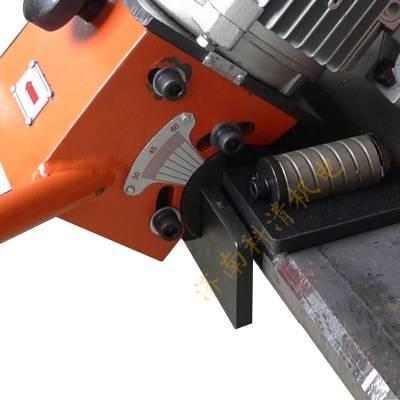 年中大促坡口机 手推式平板坡口机SKF-15电动方形钢板倒角坡口设备