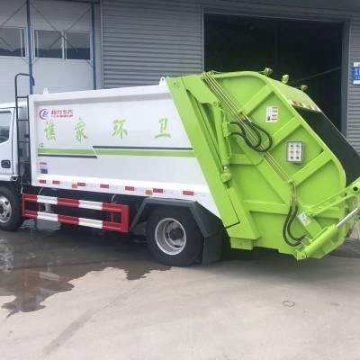 后装压缩式垃圾车10立方压缩垃圾车参数型号