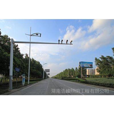 湖南张家界 4.5米室外监控立杆 提供监控杆产品_提供监控标志杆产品