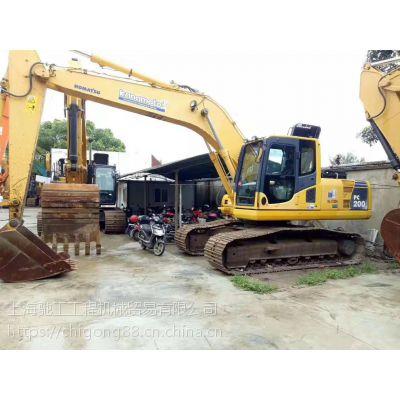 原版进口小松200-8二手挖掘机-上海驰工二手挖掘机市场