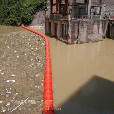 九江航道漂浮物拦截浮块拦船浮桶