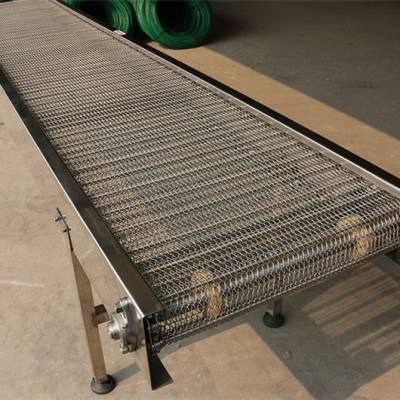 304清洗网链输送机-广州网链-不锈钢网链输送机(查看)