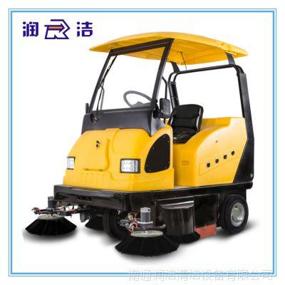 润洁驾驶式扫地车商业街仓库工厂电动驾驶式扫地车地面清扫车