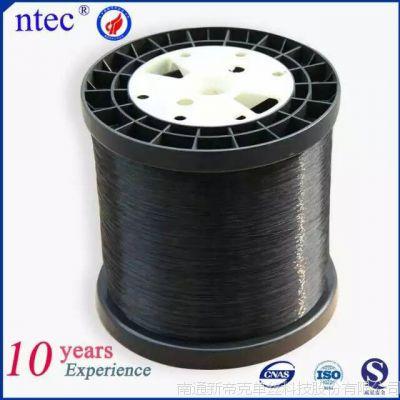 新帝克厂家直销  0.25mm 黑色阻燃涤纶单丝   编织网管PET单丝