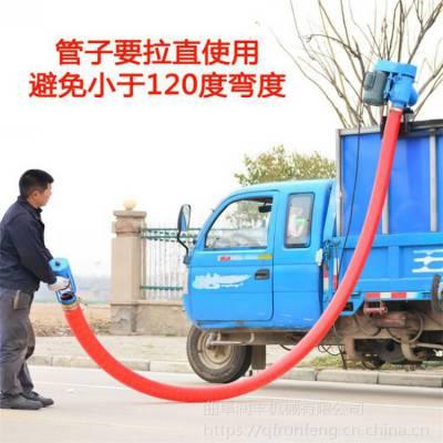 散在地上粮食装车用吸粮机 弯曲式随车用抽粮机 润丰