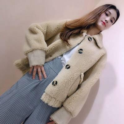 随州女装批发网 名品服饰折扣 双面尼羊绒大衣女 儿童服装批发