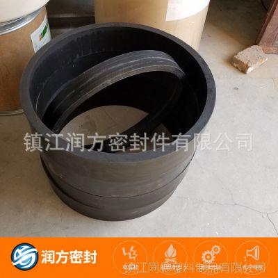 大型号的聚四氟乙烯PTFE碳纤活塞环 更为耐磨的特性 适用工况恶劣