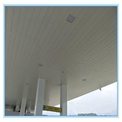 中石化加油站专用300面A级防火防风条形铝扣板天花