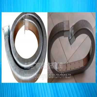 矩形金属软管2550焊接设备穿线拖链