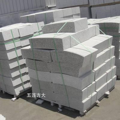 花岗岩路缘石_路缘石多少钱一米_灰色石材侧缘石单价