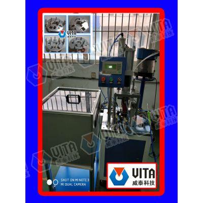 供应同步电机齿轮中板自动铆针机