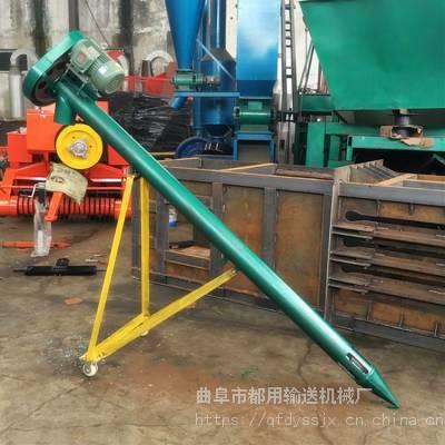 化工厂不锈钢提升机 粮油上料机定做厂家 石灰粉管式提升机