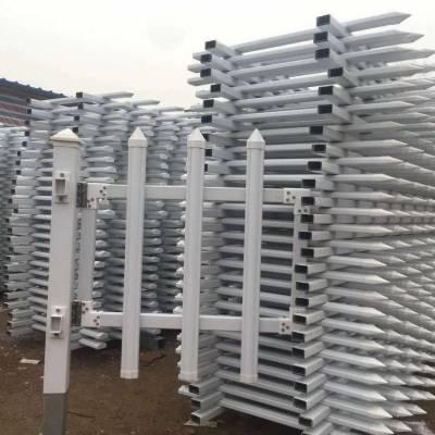 草坪塑钢围栏pvc塑钢护栏价格