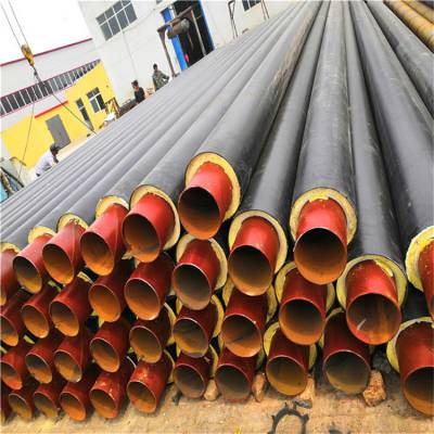 河北深泽县聚氨酯泡沫保温管直埋管/小区地埋供暖管供应