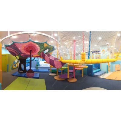 北京彩虹网,室内儿童乐园设备,彩虹绳网可加工定做