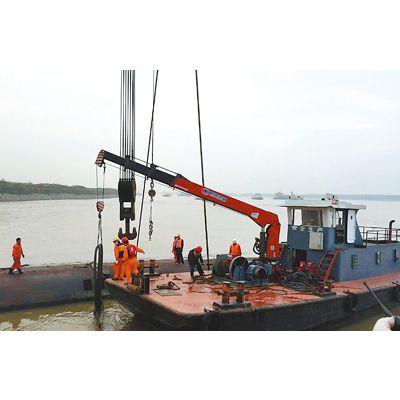 海重 船用吊机图片 船用甲板吊机 大型吊机价格 厂家特惠