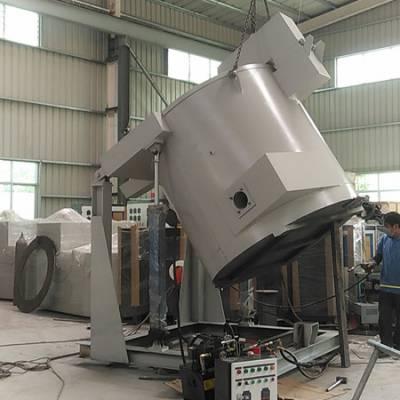 锌、锡、铅、铝合金可倾燃油熔化炉 高温熔铝炉 柴油熔炼炉设备