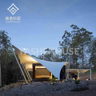 西安户外野奢酒店帐篷-景区住宿帐篷房屋-源头厂家定制生产