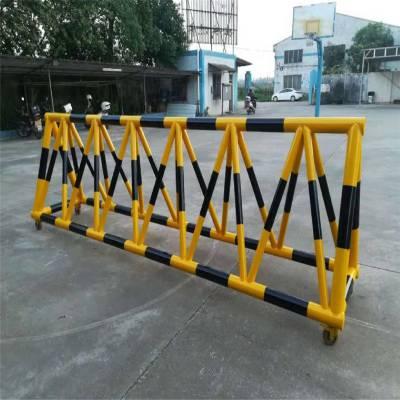 优盾牌拒马路障移动护栏 学校马路挡车防撞护栏隔离栏路障镀锌钢管交通挡车