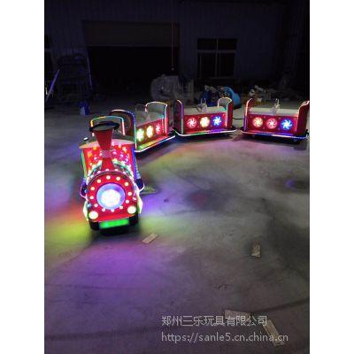 电动小火车儿童游乐设备,轨道火车更受欢迎