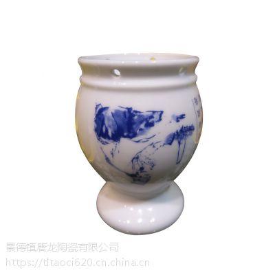千火陶瓷 定做陶瓷小型拨火罐