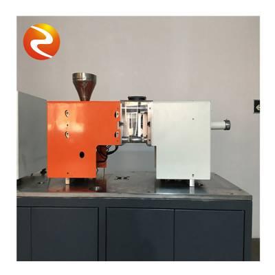 实验用微型注塑机生产商-智福科技桌面上操作
