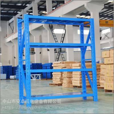 广东广州仓储货架批发医药行业中型架组合阁楼平台