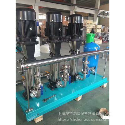 全自动恒压变频供水设备/全自动不锈钢恒压变频成套供水设备