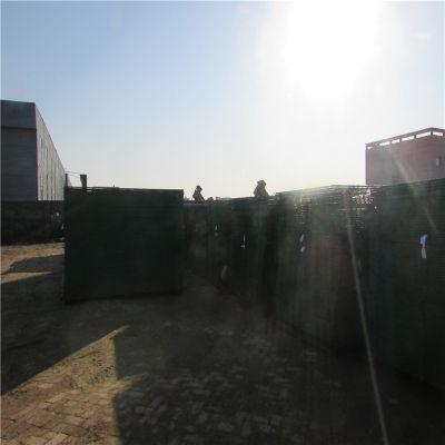 河道框架护栏网 移动式隔离栏 围墙护栏网