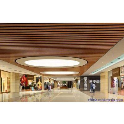 帝欣 铝方通型材木纹 木纹铝方管100*50 屏障铝方通 外墙用铝方通