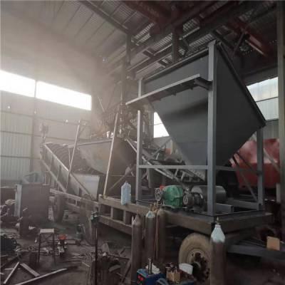 环保螺旋洗砂生产线 华工高效螺旋洗砂机定制