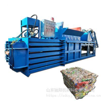 供应全自动捆扎卧式废纸箱液压打包机保养常识