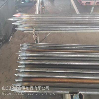 山东钢花管声测管超前小导管注浆管隧道管棚管厂家