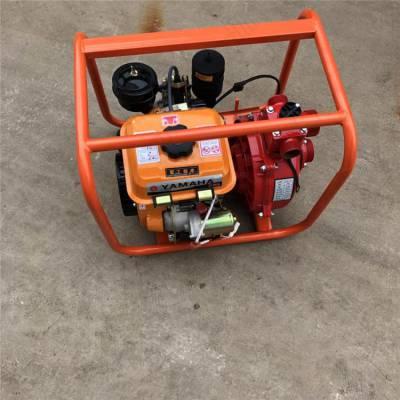 4寸汽油抽水机 高扬程抽水泵 厂家直销手推压井水泵