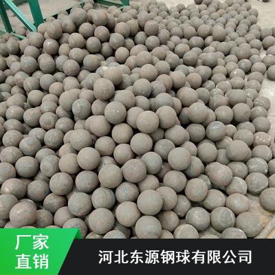 黑龙江抗冲击水泥厂用不失圆热轧钢球_东源热轧钢球批量供应