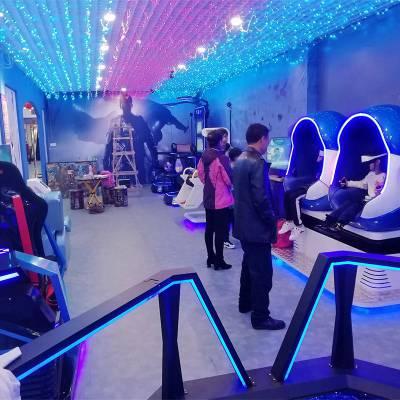 vr体验馆加盟多少钱提供全套40多款vr游戏设备一站式VR盈利方案零加盟费全程扶持拓普互动