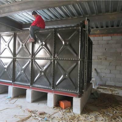 中祥现货供应-江西31吨装配式搪瓷钢板水箱