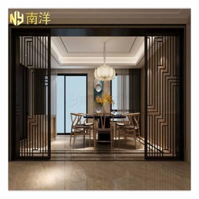 不锈钢屏风定制 展厅大堂不锈钢装饰屏风隔断