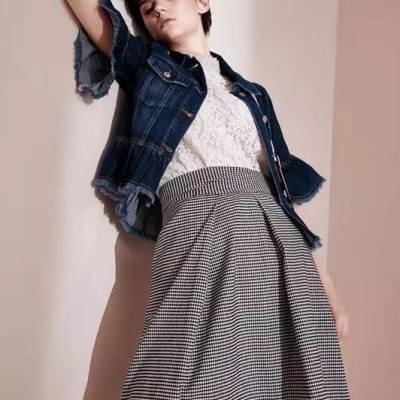 欧美时尚风格品牌折扣拿货渠道 品牌折扣女装走份批发潮流女装新款 库存尾货专柜女装批发