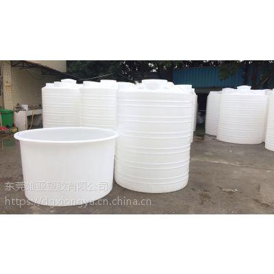 雄亚塑胶 生产食品级塑料水塔 车载运输罐 圆形腌制桶 长方形染布水箱
