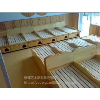 定做成都-四川幼儿园实木儿童家具 幼儿园实木学生家具价格表