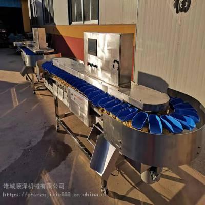 扇贝柱重量分选机 鱼籽重量分级机 自动翻盒重量分选机