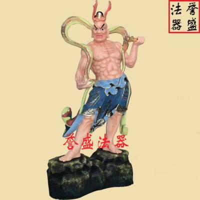 誉盛法器 寺庙神像哼哈二将定做加工