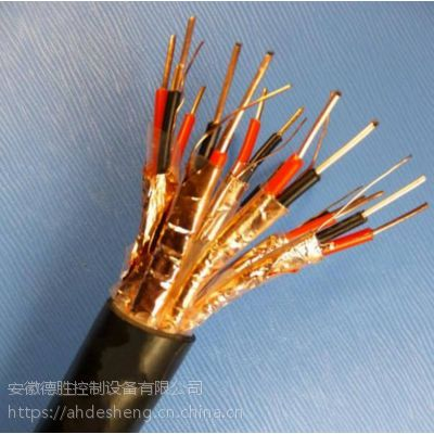 安徽德胜KFVP22铜芯氟塑料绝缘聚氯乙烯护套钢带铠装铜丝屏蔽高温控制软电缆5×4 厂家供应