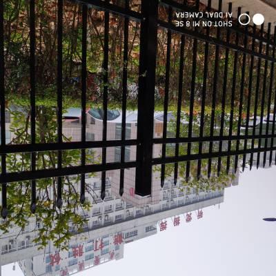 红旗 围墙围栏 围墙栏杆 围墙栅栏 锌钢围墙围栏 坚固耐用 使用寿命长