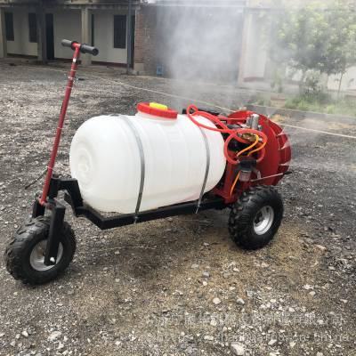 曲阜华圣机械喷雾打药机高效风送自走式农用打药车厂家直销