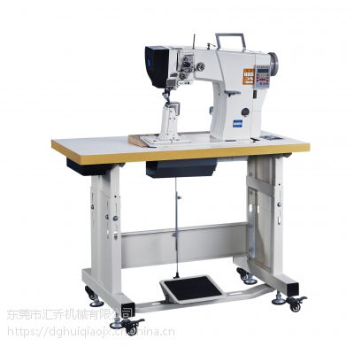 东莞厂家供应TY-891工业缝纫机制鞋双针电脑罗拉车
