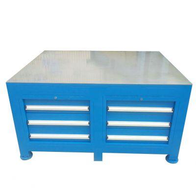 湖南工厂定制模具钢板台面工作台利欣出售